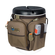 Wild River RIGGER 5 Gallon Bucket Organizer w\/Lights, Plier Holder & Lanyard, 2 PT3500 Trays & Bucket w\/Seat