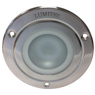 Lumitec Shadow - Flush Mount Down Light - Polished SS Finish - 4-Color White\/Red\/Blue\/Purple Non Dimming