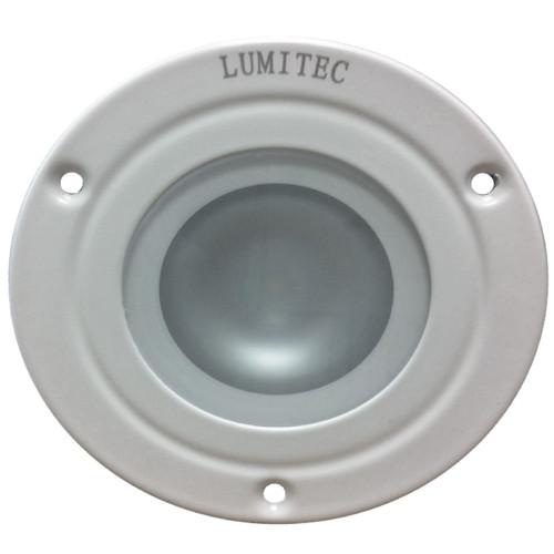 Lumitec Shadow - Flush Mount Down Light - White Finish - Warm White Dimming