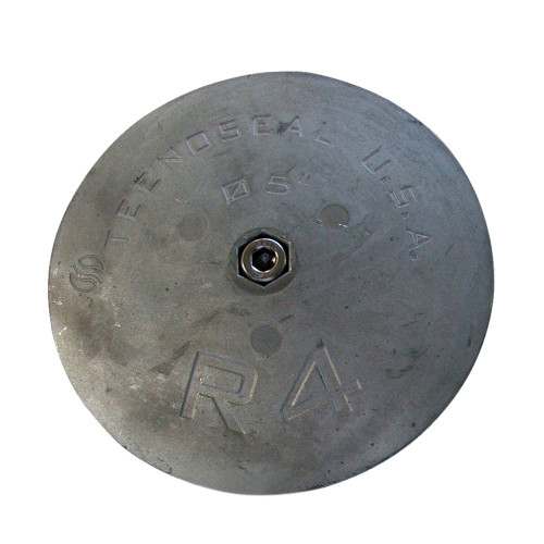 "Tecnoseal R4MG Rudder Anode - Magnesium - 5"" x 5\/8"""