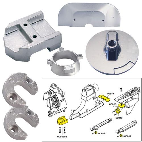 Tecnoseal Anode Kit w\/Hardware - Mercury Alpha 1 Gen 2 - Magnesium