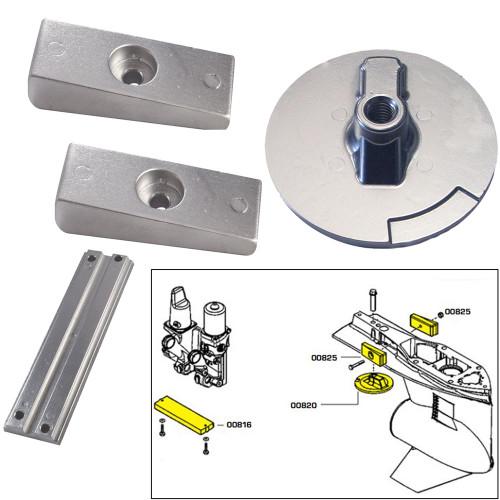 Tecnoseal Anode Kit w\/Hardware - Mercury Verado 4 - Magnesium
