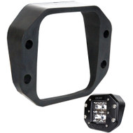 Rigid Industries D-Series Angled Flush Mount Kit - Up\/Down