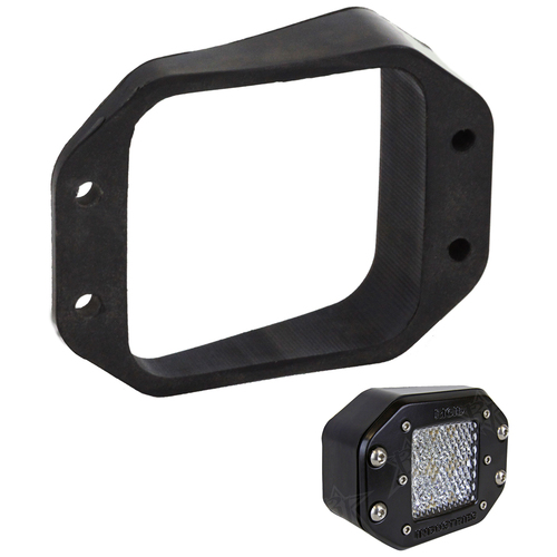 Rigid Industries D-Series Angled Flush Mount Kit - Left\/Right