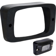 Rigid Industries SR-M Series Angled Flush Mount - Up\/Down