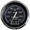 "Faria Chesapeake Black SS 4"" Tachometer w\/Systemcheck Indicator - 7,000 RPM (Gas - Johnson \/ Evinrude Outboard)"