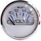 """Faria Chesapeake White SS 2"""" Voltmeter (10-16 VDC)"""