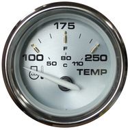 "Faria Kronos 2"" Water Temperature Gauge (100-250 DegreeF)"