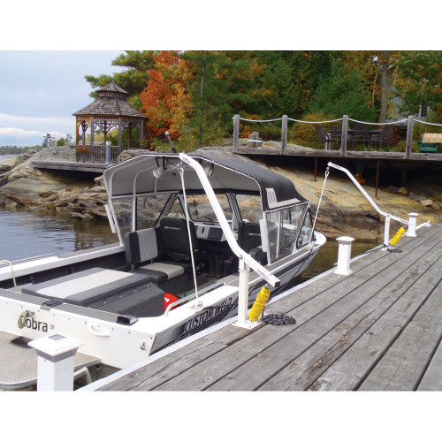 Dock Edge Wake Watchers Mooring System