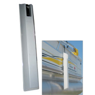 "Dock Edge 'TOON Pontoon Boat Fender - 36"" - Grey"