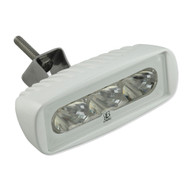 Lumitec CapreraLT - LED Flood Light - White Finish - White Non-Dimming