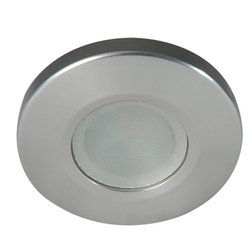 Lumitec Orbit Spetrum Flush Mount Down Light - Brushed Housing - White Dimming & Red\/Blue Non-Dimming