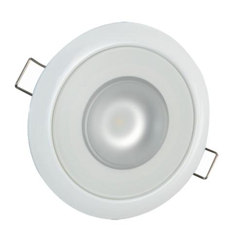 Lumitec Mirage Flush Mount Down Light Spectrum RGBW - White Housing