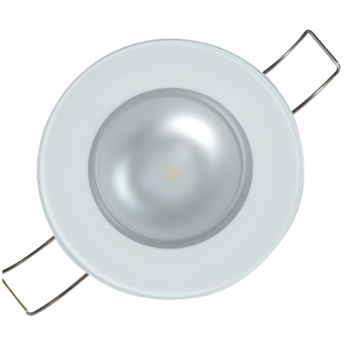 Lumitec Mirage Flush Mount Down Light Spectrum RGBW - Glass Bezel
