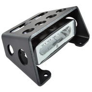 Lumitec Diesel - Extreme Duty LED Flood Light - Black Finish - White Dimming, Amber Flashing
