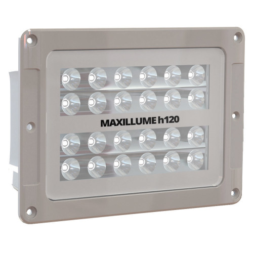 Lumitec Maxillumeh120 - Flush Mount Flood Light - White Housing - White-Dimming