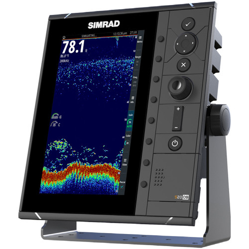"Simrad S2009 9"" Fishfinder w\/Broadband Sounder Module & CHIRP Technology"