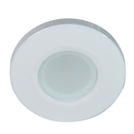 Lumitec Orbit Flush Mount Down Light - Blue Non Dimming, Red Non Dimming & White Dimming w\/White Housing