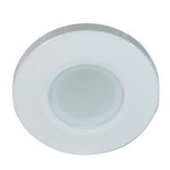 Lumitec Orbit Flush Mount Down Light - Blue Non Dimming, Red Non Dimming & White Dimming w\/White Housing