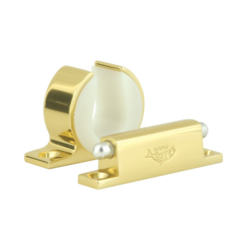 Lee's Rod and Reel Hanger Set - Avet 50W - Bright Gold