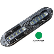 Shadow-Caster SCM-10 LED Underwater Light w\/20' Cable - 316 SS Housing - Aqua Green