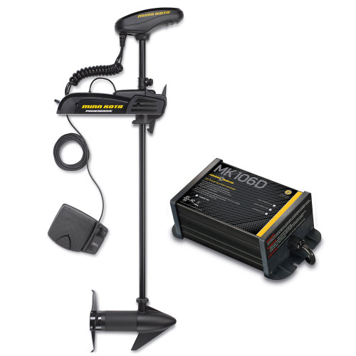 "Minn Kota Powerdrive 55_BT - 12v-55lb-54"" w\/ Free MK-106D On-Board Charger"