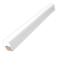 Dock Edge Piling Post Bumper - One End Capped - 6' - White