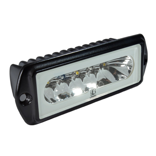 Lumitec Capri2 - Flush Mount LED Flood Light - Black Housing - 2-Color White\/Blue Dimming