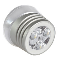 Lumitec Zephyr LED Spreader\/Deck Light - Brushed White Base - White Non-Dimming