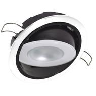 Lumitec Mirage Positionable Down Light - White Dimming - White Bezel