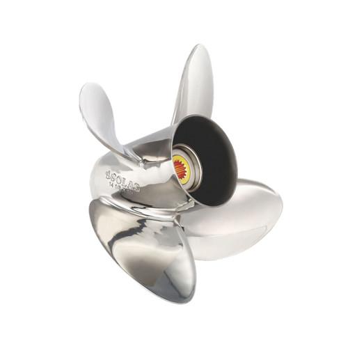 Solas 1453-130-17 Titan 4 Blade Propeller