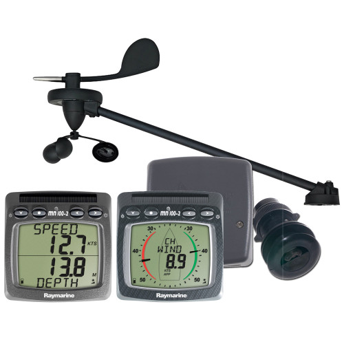 Raymarine Wireless Wind, Speed & Depth System w\/Triducer