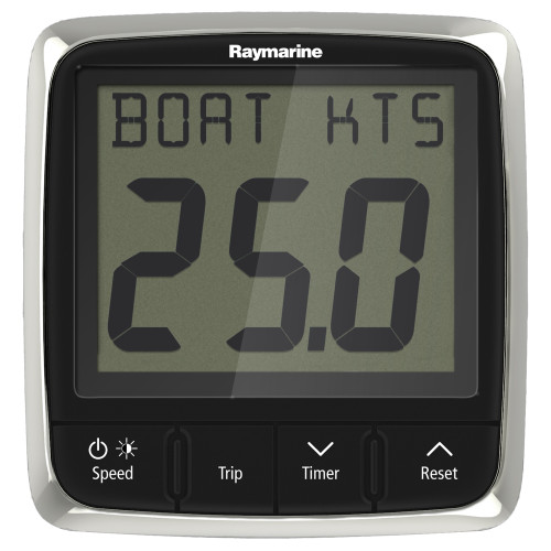 Raymarine i50 Speed Display System w\/Nylon Thru-Hull Transducer