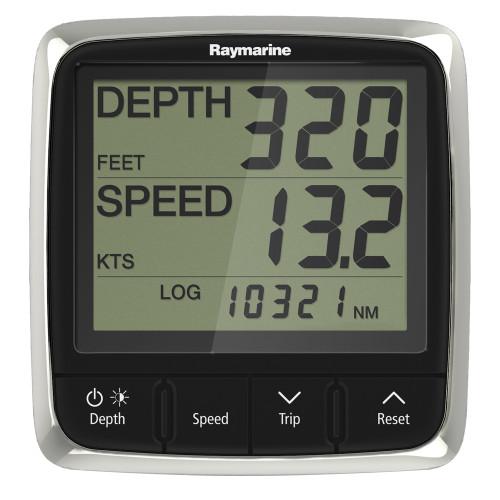 Raymarine i50 Tridata Display System w\/Nylon Thru-Hull Transducer