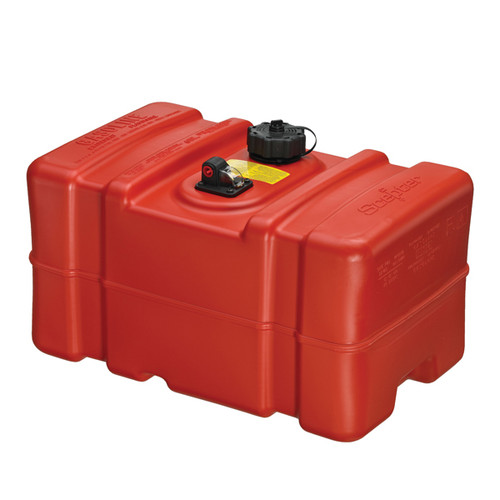 Scepter Marine 08668 12 Gallon Tall Profile Rectangular Portable Fuel Tank