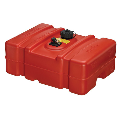 Scepter Marine 08669 12 Gallon Low Profile Rectangular Portable Fuel Tank