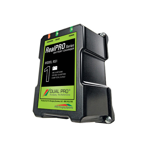 RealPRO Series Battery Charger 1 Banks 6 Amps