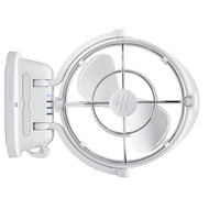 Caframo 7010CAWBX Sirocco II Gimbal Fan White Side