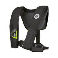 Mustang Deluxe 38 Manual Inflatable Life Vest - Black