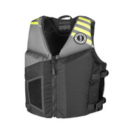 Mustang Rev Youth Gray Foam Life Jacket