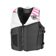 Mustang Rev Large Youth Foam Vest - White