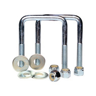 "Tie Down Square U-Bolt Kit 3-1/8"" x 3"""