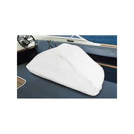 Taylor Back to Back Boat Seat Cover - White Vinyl