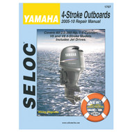 Seloc 1707 Service Manual Yamaha All 4-Stroke 2005-10