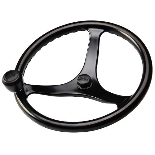 """Edson """"Special Ops"""" Powerwheel - Black w\/Black Nut  Knob"""