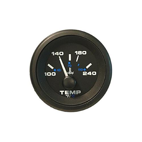 Sierra 62729P Premier Pro Series Water Temp Gauge