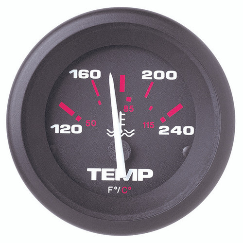 Sierra 57904P Amega Series Water Temp Gauge