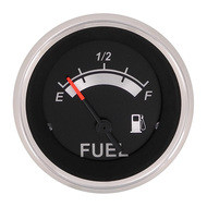 Sierra 67021P Black Sterling Series Fuel Gauge