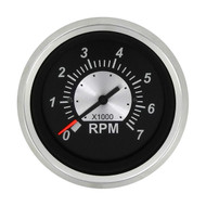 Sierra 67363P Black Sterling Series Tachometer