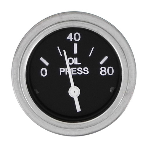 Sierra 80180P Heavy Duty Series Oil Pressure Gauge